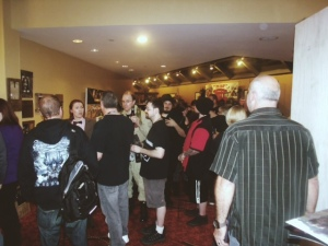 Crowd of patrons at The Days Of The Dead Horror Con