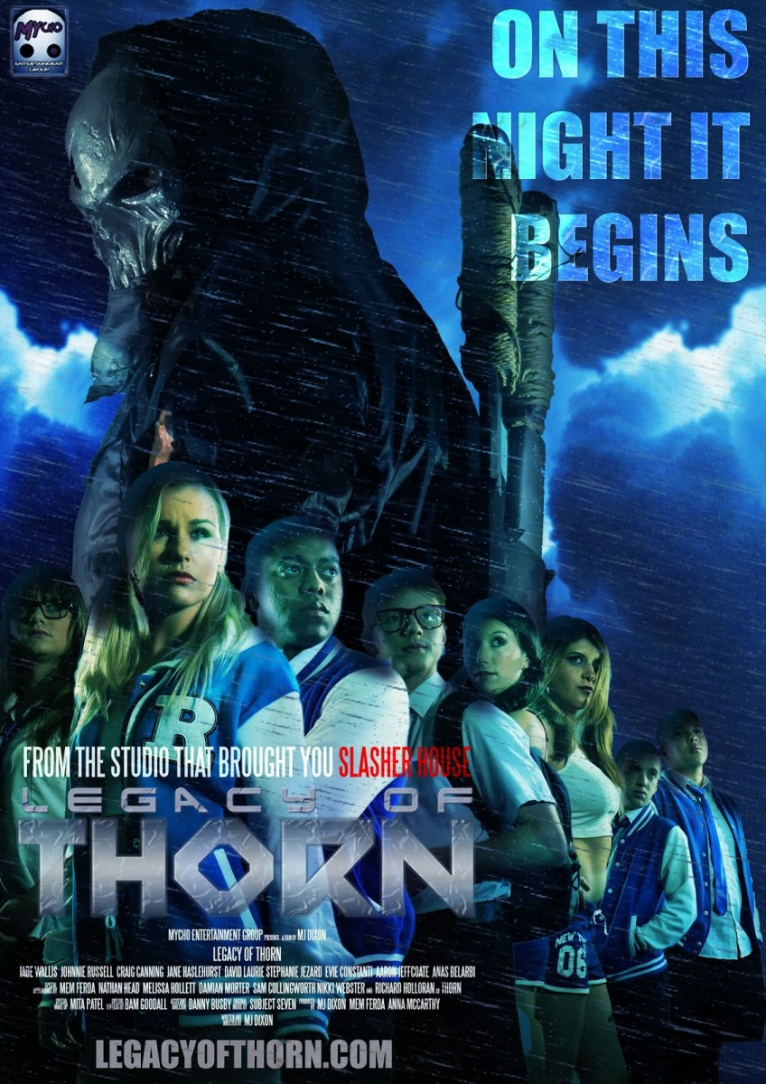 indie flick teaser and details for legacy of thorn – horror movies uncut