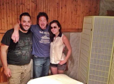 David, Paul and Sasha for the 'Deep Tissues' podcast.