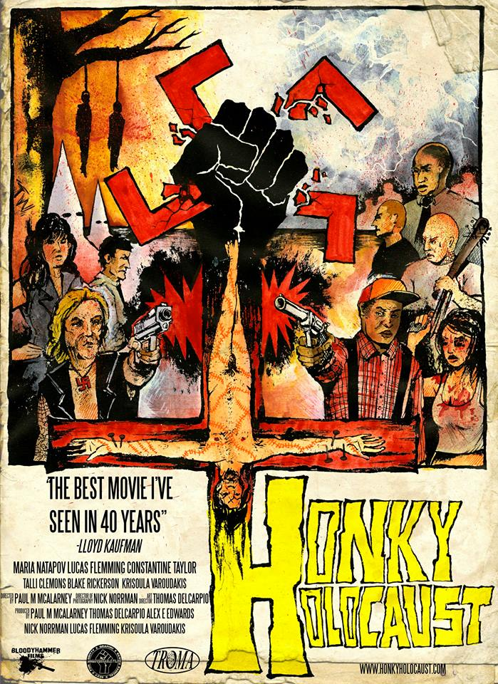 Poster for HONKY HOLOCAUST