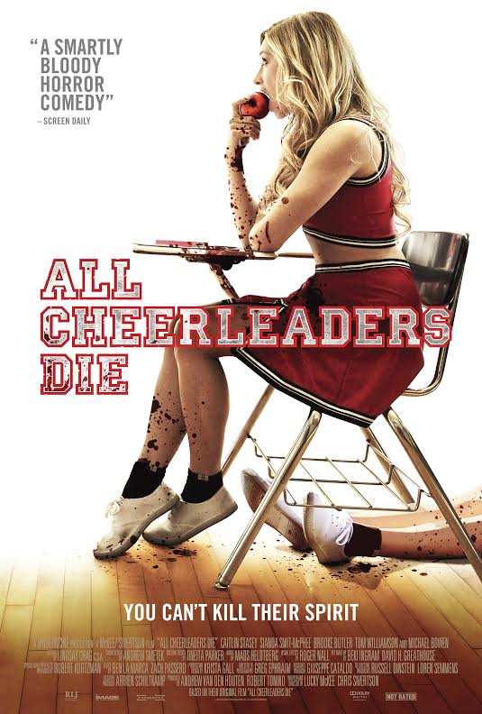 Poster for 'All Cheerleaders Die' in theaters now!