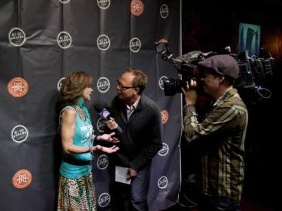 Linda Blair Actress Linda Blair is interviewed by the Denver NBC affiliate KUSA at the 2013 MHHFF. Mrs. Blair was on-hand for a special 30th anniversary presentation of THE EXORCIST.