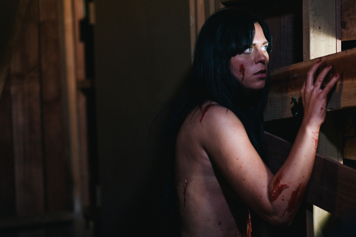 Naked Zombie Girl Strips Horror To The Bare Essentials -7106