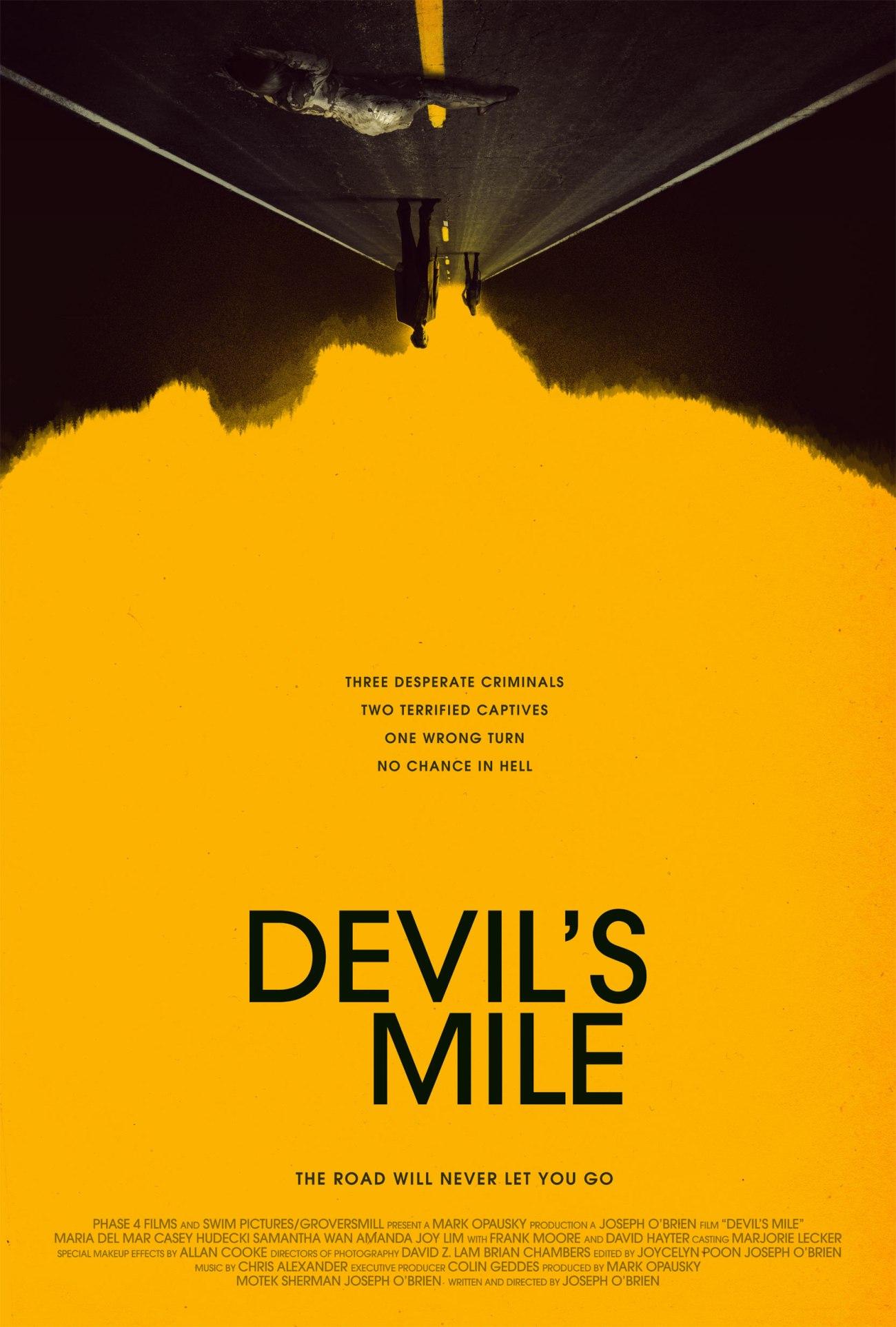 DEVIL'S MILE Official Poster