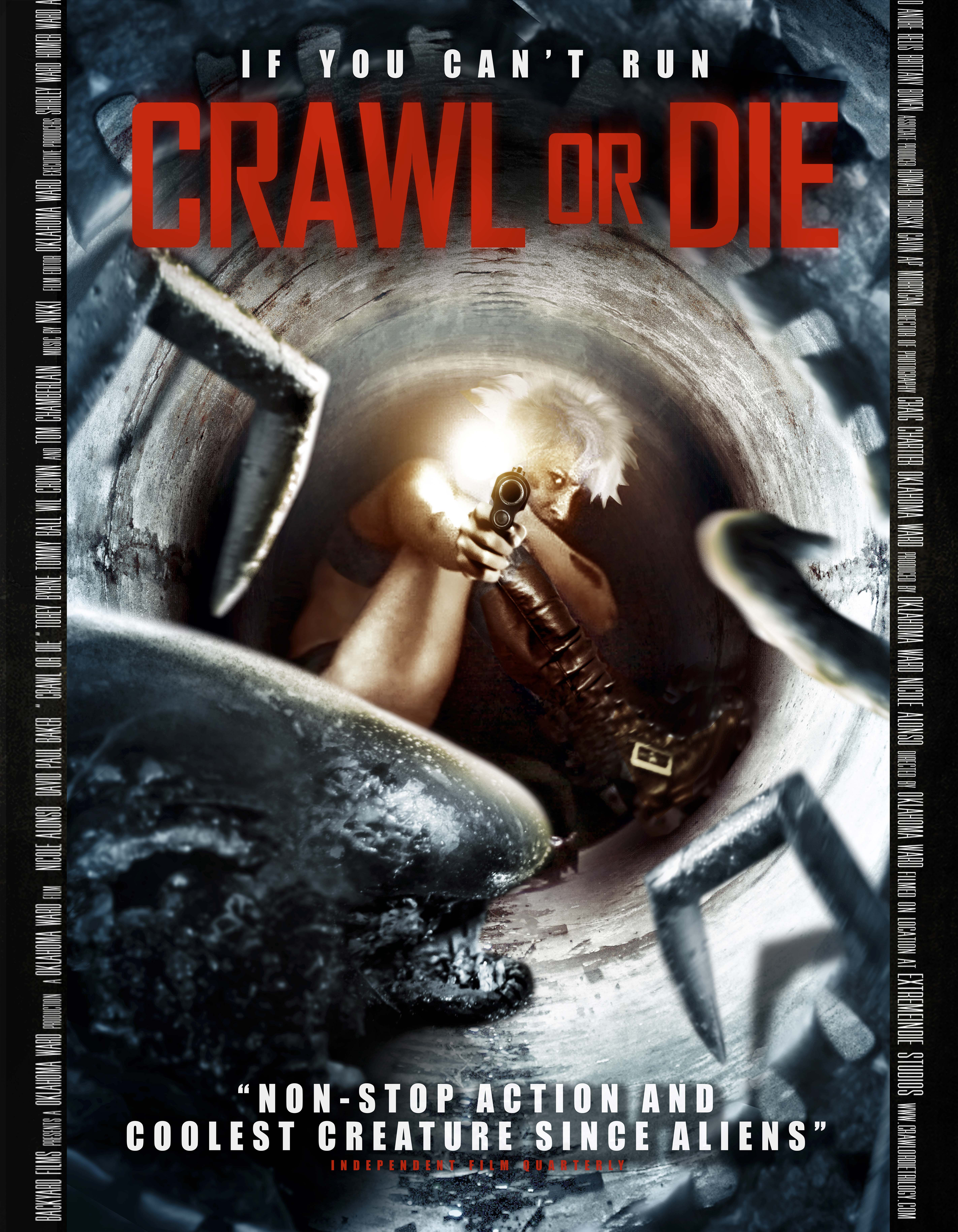 Tightly done with 'Crawl or Die' release – HORROR MOVIES UNCUT