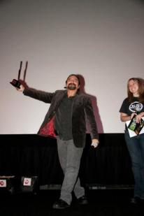 Tom Savini Special effects legend and horror icon Tom Savini receives a Lifetime Achievement Award at the 2013 MHHFF.