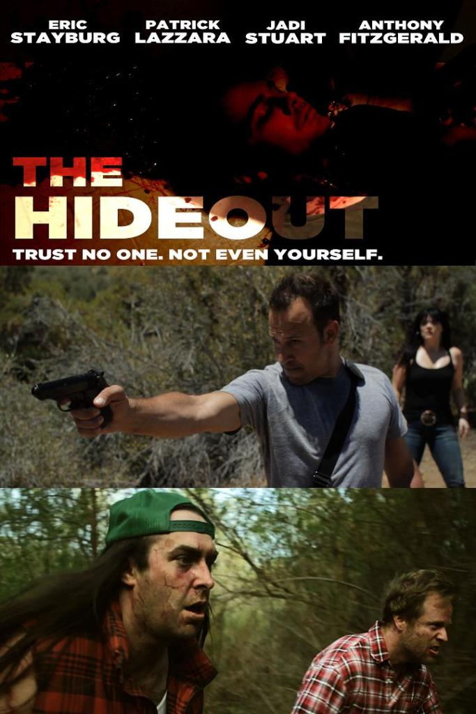 Official poster for 'The Hideout' courtesy of Chaotic Films