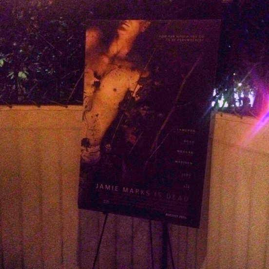 Images from the premiere party for JAMIE MARKS IS DEAD at the beautiful Chateau Marmont Bungalow