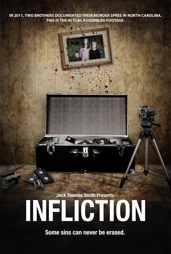 Original INFLICTION movie poster