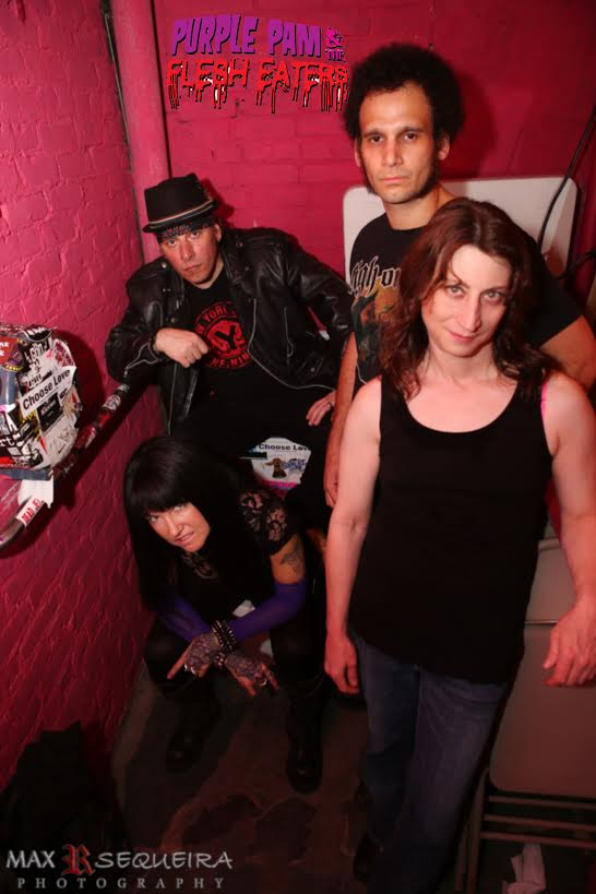 Purple Pam and The Flesh Eaters