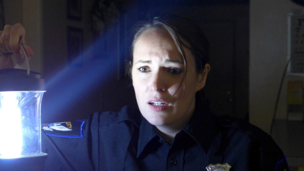 Sarah Nicklin as Rachel Burke in ABANDONED DEAD