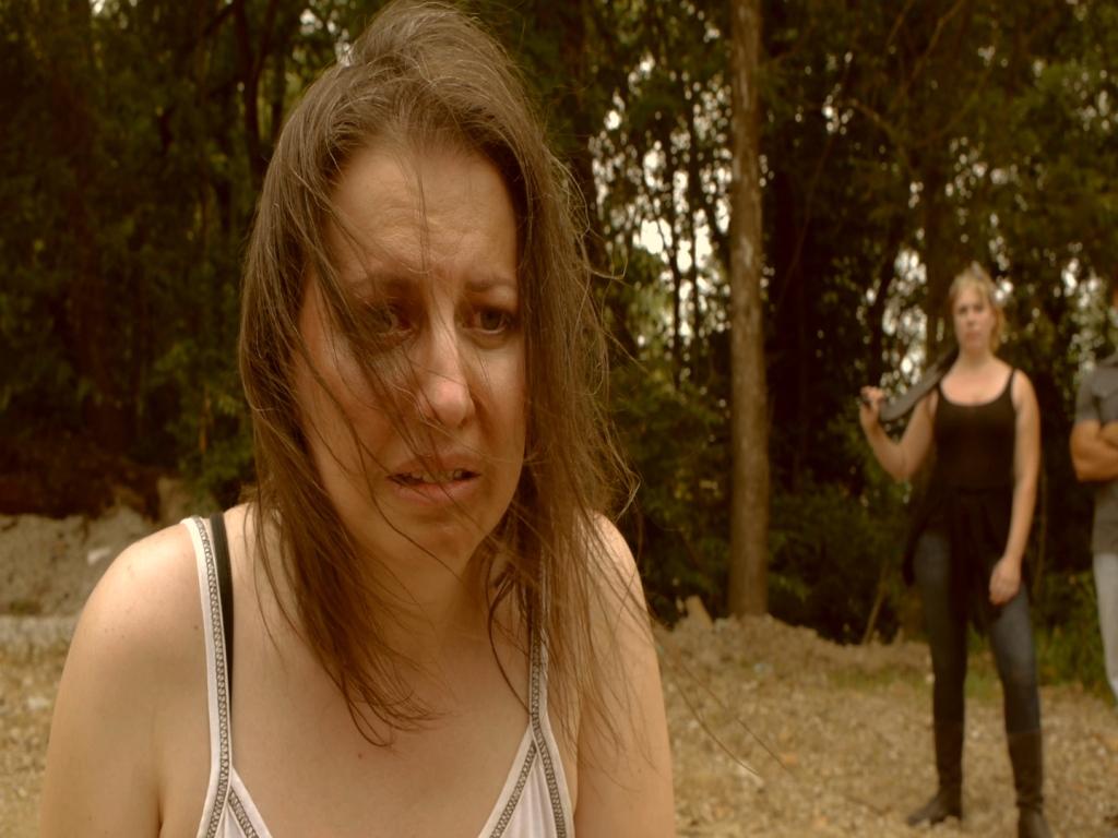Eli DeGeer as Lindsay Cunningham in THE KILLERS RESOULTE