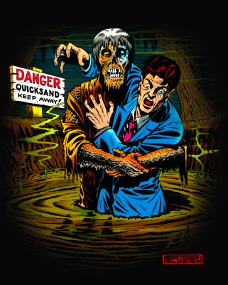 Images from the EC Comics limited edition tees from FRIGHT RAGS
