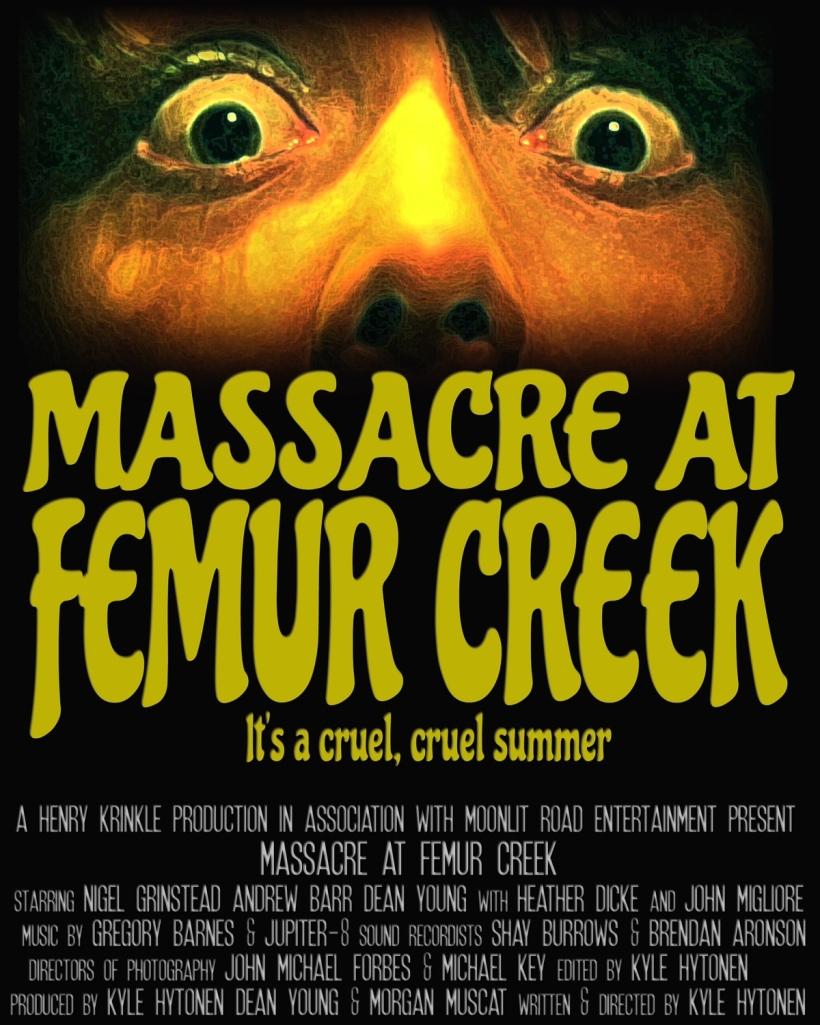 Poster for MASSACRE AT FEMUR CREEK