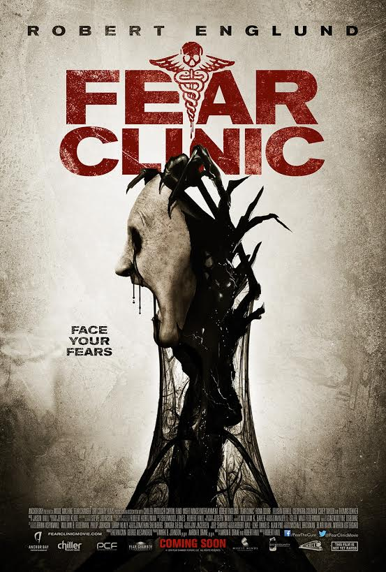 New poster from FEAR CLINIC  courtesy of Anchor Bay
