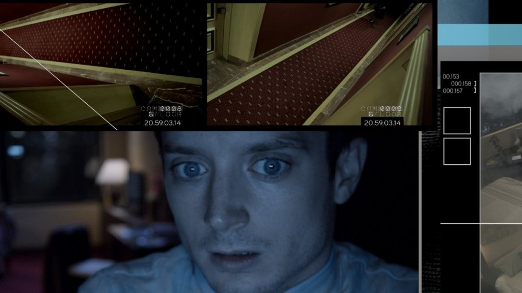 Elijah Wood in OPEN WINDOWS