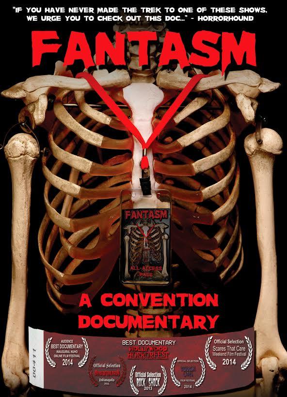 DVD poster for horror convention documentary FANTASM on DVD November 11th
