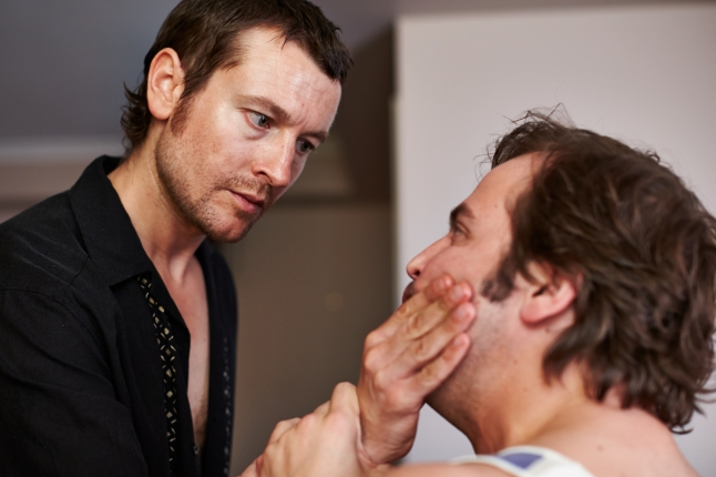 """(L-R) Leigh Whannell and Angus Sampson in the thriller """"THE MULE"""" an XLrator Media release. Photo courtesy of XLrator Media."""