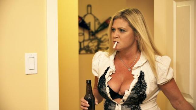 Fast Talking Beer Drinking Smoking Ginger Lynn Allen in HOUSE OF MANY SORROWS