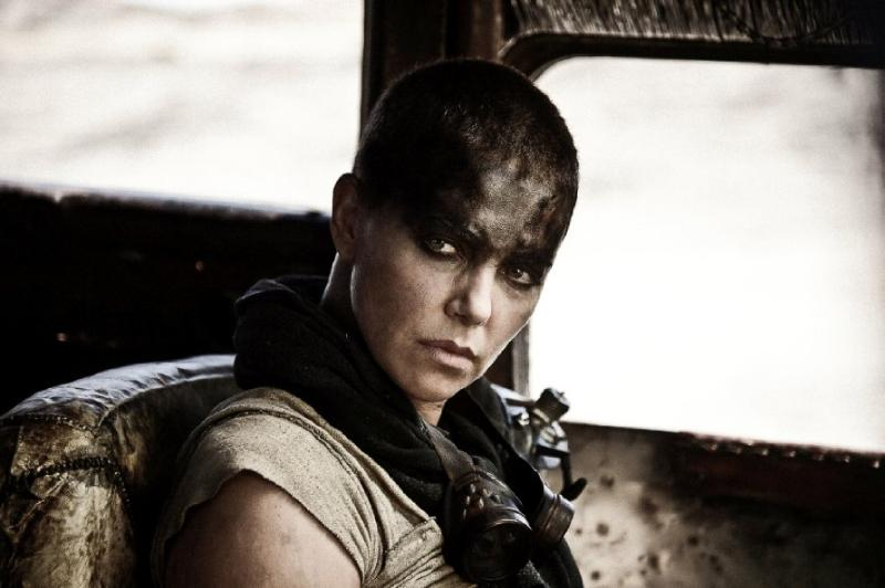 Still of Charlize Theron in Mad Max: Fury Road Photo by Jasin Boland - © 2012 Warner Bros. Entertainment Inc
