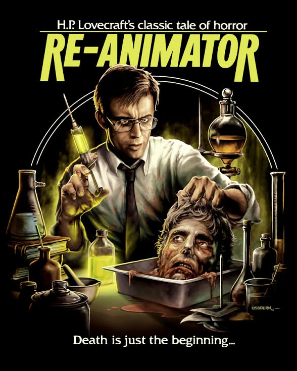 Pre order your 'Re-Animator' 30th year anniversary shirts