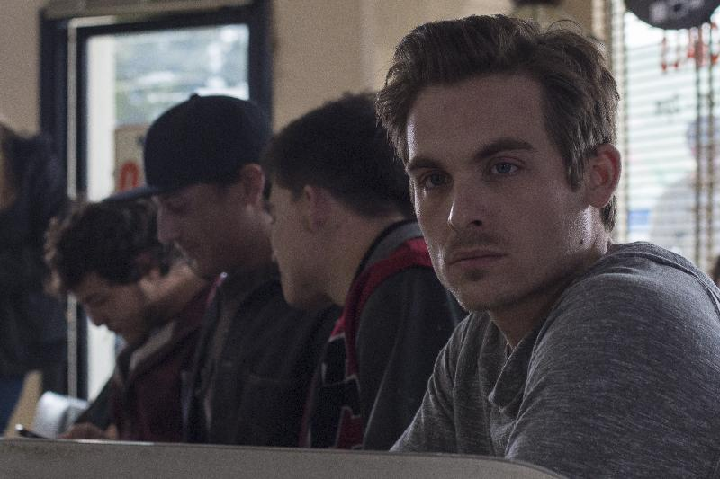 """Kevin Zegers as Chuck in the thriller """"THE CURSE OF DOWNERS GROVE"""" an Anchor Bay Entertainment release. Photography credit: Bryan Giardinelli."""