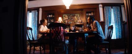 "(L-R) Ali Larter as Madison, Thomas Kuc as Danny, and Arjun Gupta as Nikolai in the sci-fi film ""THE DIABOLICAL"" an XLrator Media release. Photo courtesy of XLrator Media."