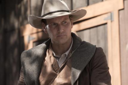 "Patrick Wilson as Arthur O'Dwyer in the western film ""BONE TOMAHAWK"" an RLJ Entertainment release. Photo credit: Scott Everett White."