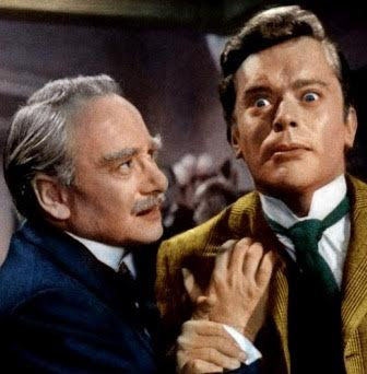 PAUL MASSIE CHRISTOPHER LEE DAWN ADDAMS OLIVER REED HAMMER FILMS 'THE TWO FACES OF DR JEKYLL' AKA 'THE HOUSE OF FRIGHT' (1960) TERENCE FISHER THEBLACKBOXCLUB.COM