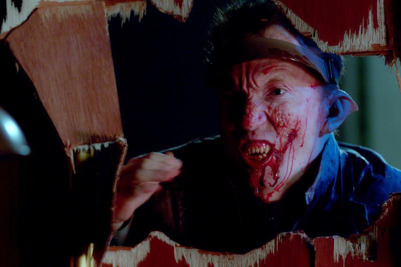 "Scene in the horror film ""A CHRISTMAS HORROR STORY"" an RLJ Entertainment release. Photo credit: RLJ Entertainment."