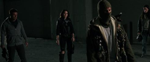 Stills from THE WEAK AND THE WICKED