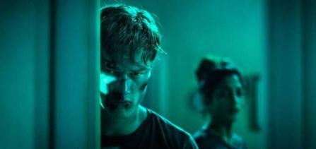 Sam Gittins plays Nick, who brings his girlfriend Annji (Neerja Naik) into the family house from hell, where the television exerts a sinister grip, leading to paranoia and bloody carnage.