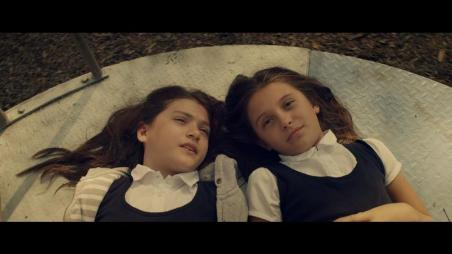 (L-R) Ever Prishkulnik as young Lucie and Elyse Cole as young Anna in the action horror film MARTYRS an Anchor Bay Entertainment release. Photo courtesy of Anchor Bay Entertainment.