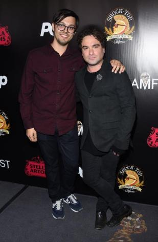 (L-R) - Bobby Miller and Johnny Galecki