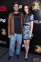 Oren Peli and Lydia Hearst
