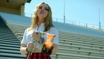 "Sammi Hanratty as Siouxsie Hess in the thriller ""BAD KIDS OF CRESTVIEW ACADEMY"" a Momentum Pictures release. Photo courtesy of Momentum Pictures."