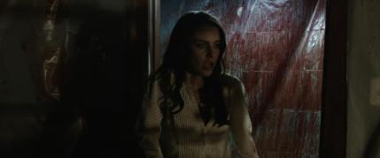 "Jessica Lowndes as Julia Talben in the horror film ""ABATTOIR"" a Momentum Pictures release. Photo courtesy of Momentum Pictures."