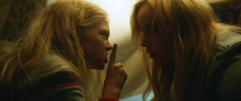 """(L-R) Sarah Abbott as Susie and Abbie Cornish as Jane in the thriller film """"LAVENDER"""" an AMBI Media Group release. Photo courtesy of AMBI Media Group."""