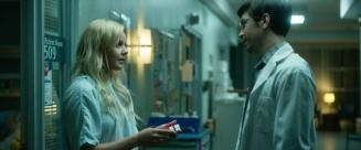 """(L-R) Abbie Cornish as Jane and Justin Long as Liam in the thriller film """"LAVENDER"""" an AMBI Media Group release. Photo courtesy of AMBI Media Group."""