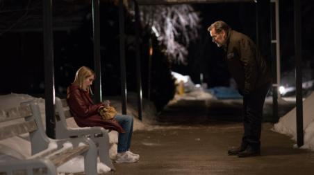 [L-R] Emma Roberts and James Remar Credit: Photo by Petr Maur, courtesy of A24.