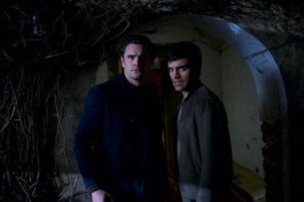 Actors Tom Bateman (Marc) and Sean Teale (Fred). Photo Credit: Nick Wall ©Band B Films Ltd