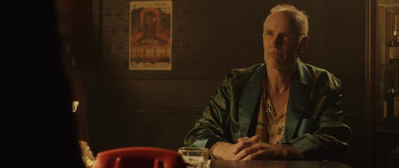 "Matt Frewer as Mr. Fairweather in the supernatural thriller ""RESIDUE"" an XLrator Media, IndustryWorks Studios and Motorcycle Boy Productions release. Photo courtesy of XLrator Media, IndustryWorks Studios and Motorcycle Boy Productions."
