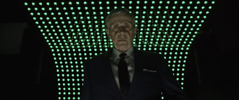 "William B. Davis as Lamont in the supernatural thriller ""RESIDUE"" an XLrator Media, IndustryWorks Studios and Motorcycle Boy Productions release. Photo courtesy of XLrator Media, IndustryWorks Studios and Motorcycle Boy Productions."