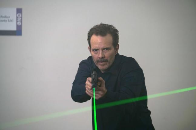 """Michael Biehn as Sheriff Hodge in the action thriller """"THE SHADOW EFFECT"""" a Momentum Pictures release. Photo courtesy of Momentum."""