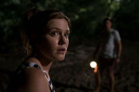 "Harriet Dyer as Sam in the horror/thriller film ""KILLING GROUND"" an IFC Midnight release. Photo courtesy of IFC Midnight."