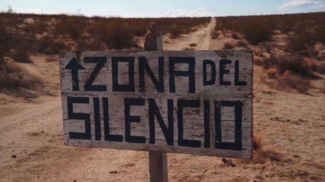 Zona del Silencio Sign