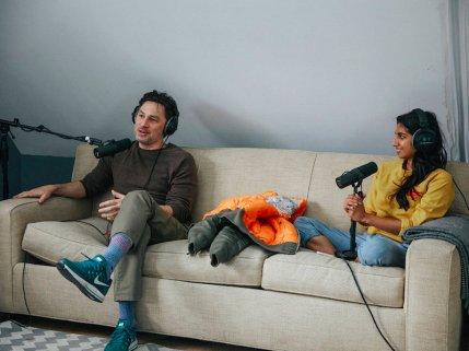 """Dax Shepard's """"Armchair Expert"""" episode 11 out now; Guest starring Zach Braff"""