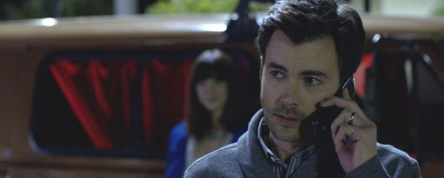 """Matt Long as Eric in the horror film """"ALL THE CREATURES WERE STIRRING"""" an RLJE Films release. Photo courtesy of RLJE Films."""